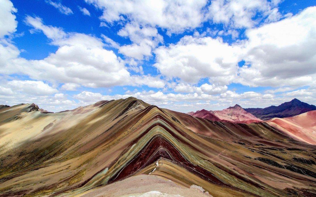 Hiking The Rainbow Mountains Trek In Peru!